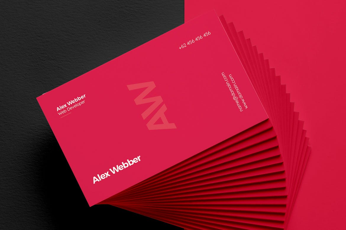 Red Business Cards | Luxury Printing