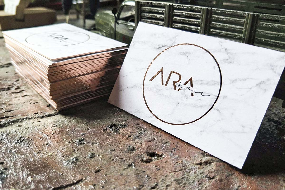 Duplex Business Cards | Printed by Luxury Printing